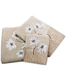Magnolia Floral Hand Towel
