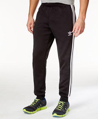adidas superstar della formazione degli uomini con i pantaloni activewear uomini macy's