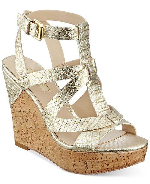 4e5a2934198 GUESS Women s Harlea Wedge Sandals  GUESS Women s Harlea Wedge Sandals ...