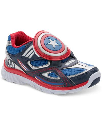 Stride Rite Little Boys' Captain America Sneakers