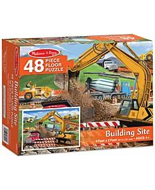 Kids' Building Site 48-Piece Floor Puzzle