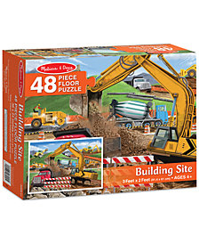 Melissa and Doug Kids' Building Site 48-Piece Floor Puzzle