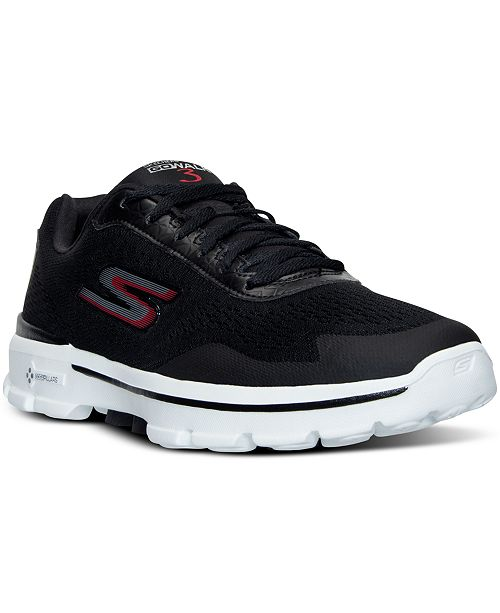 Skechers. Men's GOwalk 3 - Reaction Walking Sneakers from Finish Line. Be the first to Write a Review. main image; main image ...