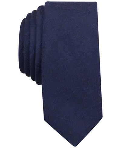 Original Penguin Men's Fresco Textured Skinny Tie