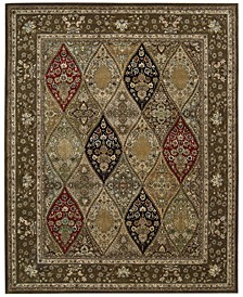 """Wool and Silk 2000 2292 Multicolor 7'9"""" x 9'9"""" Area Rug"""