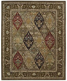 "Nourison Wool & Silk 2000 2292 Multicolor 7'9"" x 9'9"" Area Rug"