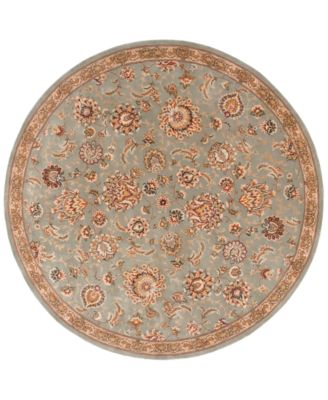 Wool and Silk 2000 2360 6' Round Rug