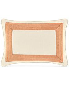 "CLOSEOUT! Tommy Bahama Home La Scala Breezer 12"" x 16"" Decorative Pillow"