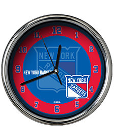 Memory Company New York Rangers Chrome Clock