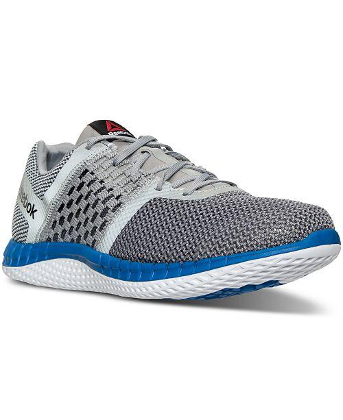Distruttivo Diventare matto Non appropriato  Reebok Men's ZPrint Run Running Sneakers from Finish Line & Reviews -  Finish Line Athletic Shoes - Men - Macy's