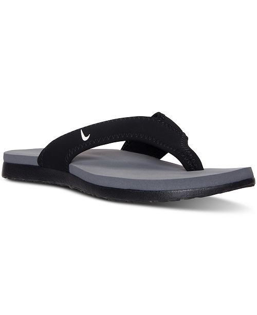 a43803e720f7c6 Nike Men s Celso Plus Thong Sandals from Finish Line   Reviews ...