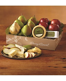 Harry & David's Classic Pears, Apples & Cheese Gift Set