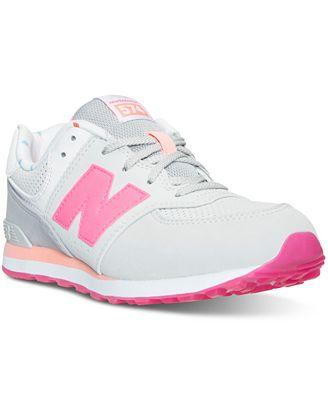 new balance girls. new balance girls\u0027 574 state fair casual sneakers from finish line girls