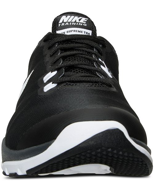 e42c3ce4d06 ... Nike Women s Flex Supreme TR 4 Wide Training Sneakers from Finish Line  ...