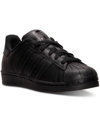 Big Boys' Superstar Casual Sneakers from Finish Line