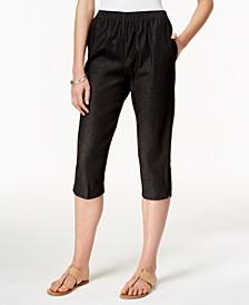 Petite Pull-On Capri Jeans