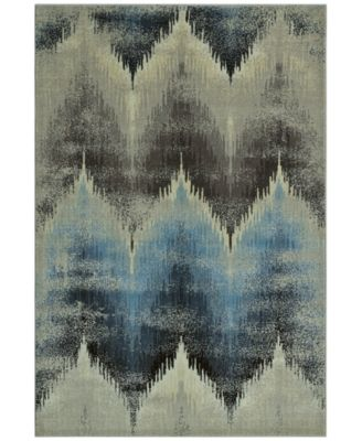 "CLOSEOUT! Menagerie MEN8120 Ivory 3'3"" x 5'1"" Area Rug"