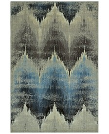 """CLOSEOUT! Menagerie MEN8120 Ivory 4'11"""" x 7'5"""" Area Rug"""