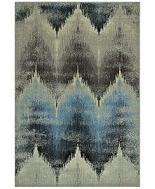 """CLOSEOUT! D Style Menagerie MEN8120 Ivory 3'3"""" x 5'1"""" Area Rug"""