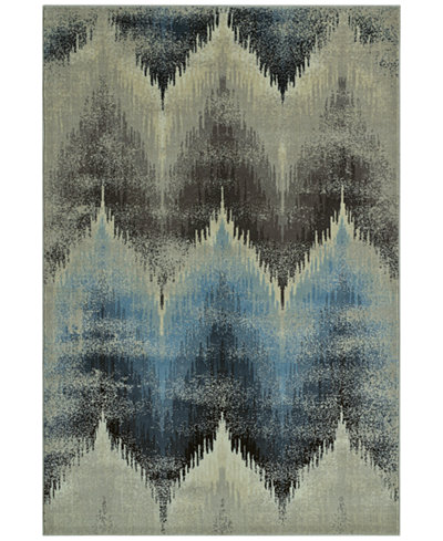 CLOSEOUT! D Style Menagerie MEN8120 Ivory Area Rugs