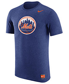 Nike Men's New York Mets Coop Tri-Blend T-Shirt