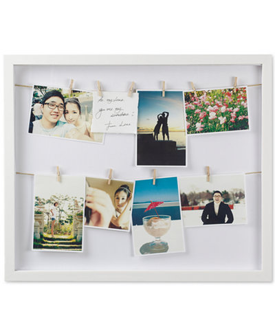umbra picture frames clothesline shadowbox