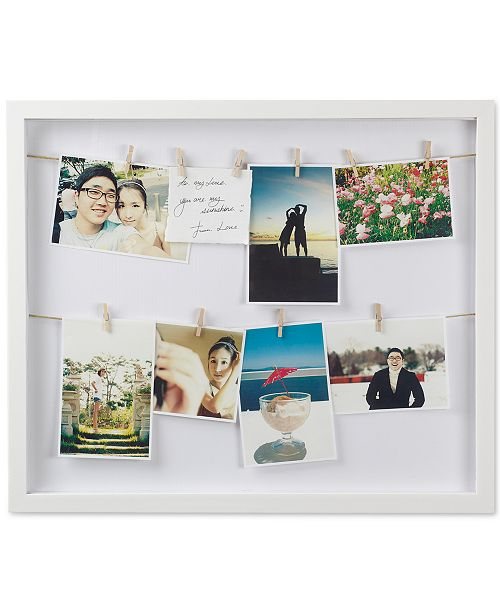 Umbra Clothesline Shadowbox Wall Frame - Picture Frames - Macy\'s