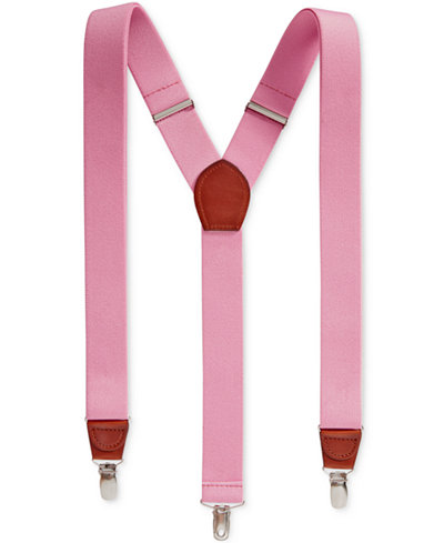 Club Room Men's Spring Suspenders, Created for Macy's