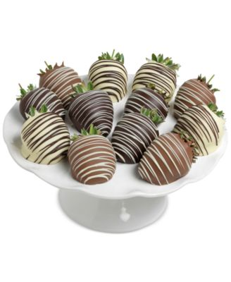 12-pc. Classic Chocolate Covered Strawberries