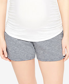 Motherhood Maternity French Terry Shorts
