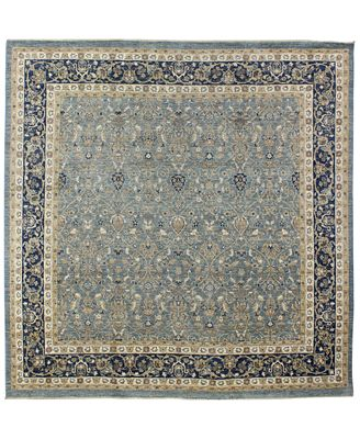 CLOSEOUT!  Fine Rug Gallery, One of a Kind, Manali B600170 Light Blue 8