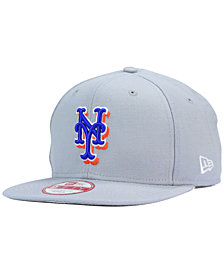 New Era New York Mets Gray Chase 9FIFTY Snapback Cap