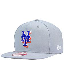 New Era New York Mets Gray Chase 9FIFTY Snapback Cap