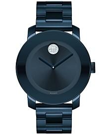 Women's Swiss Bold Ink Blue Ion-Plated Stainless Steel Bracelet Watch 36mm 3600388
