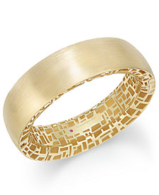 The Fifth Season by Roberto Coin 18k Gold-Plated Sterling Silver Bangle Bracelet 7771319SYBA0