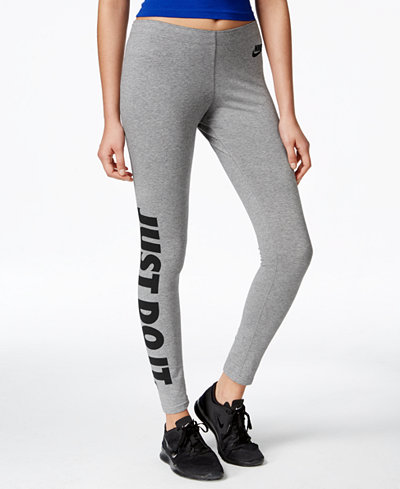 nike leg a see just do it dri fit leggings pants. Black Bedroom Furniture Sets. Home Design Ideas