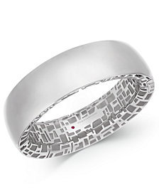 The Fifth Season by Roberto Coin Sterling Silver Bangle Bracelet 7771161SBBA0