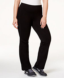 Ideology Plus Size Slimming Pants, Created for Macy's