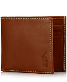 Polo Ralph Lauren Wallet, Burnished Billfold Wallet