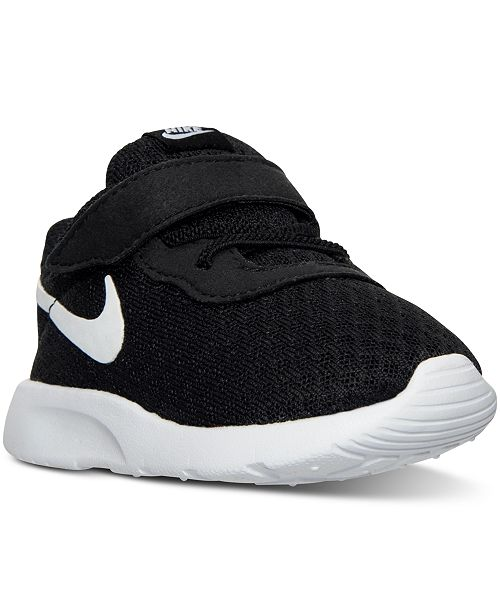 outlet store sale 43c06 96a9f ... Nike Toddler Boys  Tanjun Casual Sneakers from Finish ...