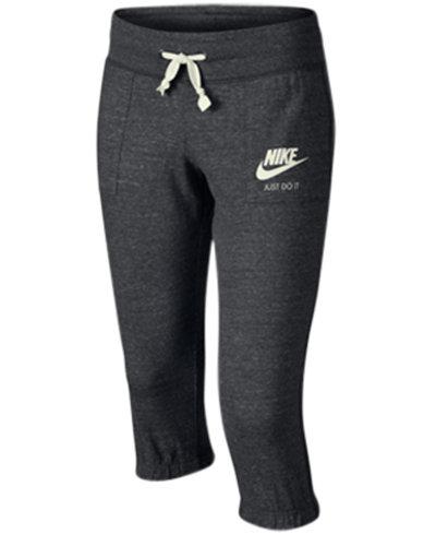 Nike Sportswear Gym Vintage Capri Pants, Big Girls (7-16) - Kids ...