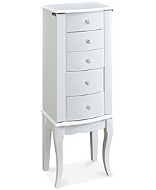 Finlee Jewelry Armoire, Quick Ship