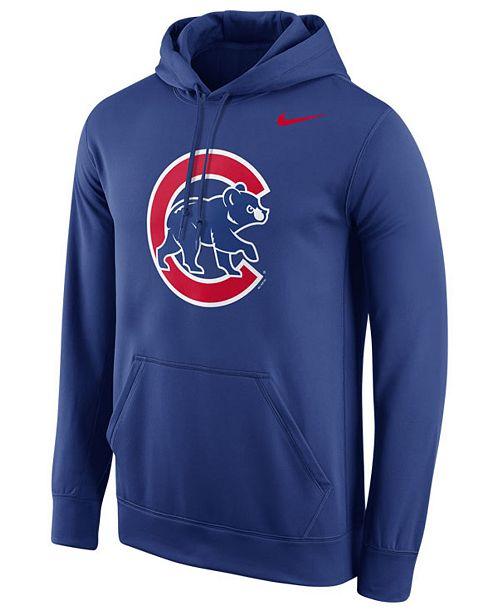 Nike Men's Chicago Cubs Performance Hoodie