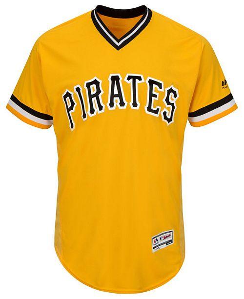 946760e5e Majestic Men s Pittsburgh Pirates Cool Base Jersey   Reviews ...