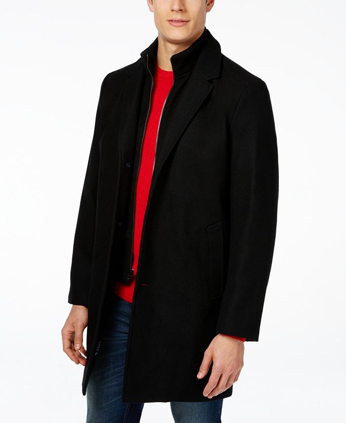 Tommy Hilfiger - Single-Breasted Overcoat