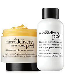 philosophy microdelivery peel 2-piece kit