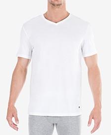 Men's Classic V Neck 3 Pack Undershirts  09TVN01