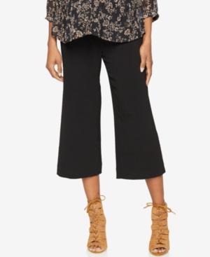 A Pea In The Pod Maternity Cropped Wide-Leg Pants plus size,  plus size fashion plus size appare