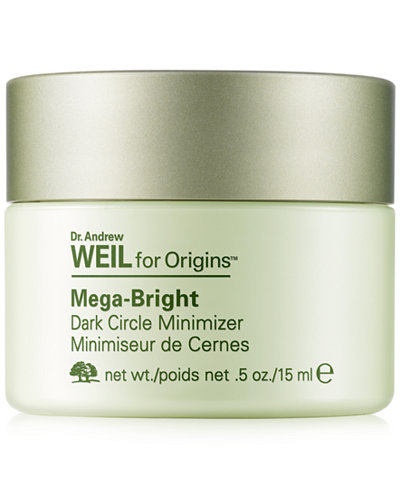 Dr. Andrew Weil for Origins Mega-Bright Dark Circle Minimizer, .5 oz