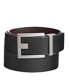 HUGO C-Fleming Men's Reversible Leather Belt